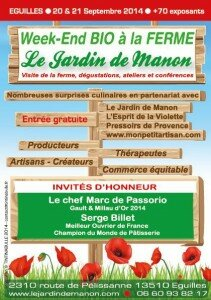 Le Jardin de Manon à Eguilles Belunga