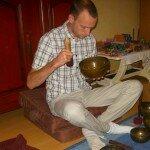 Atelier bol tibétain Damien Louvard Belunga