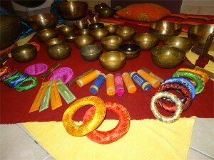Encens bols tibétains