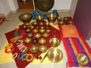 atelier bols tibetains Joseph Nicastro Belunga